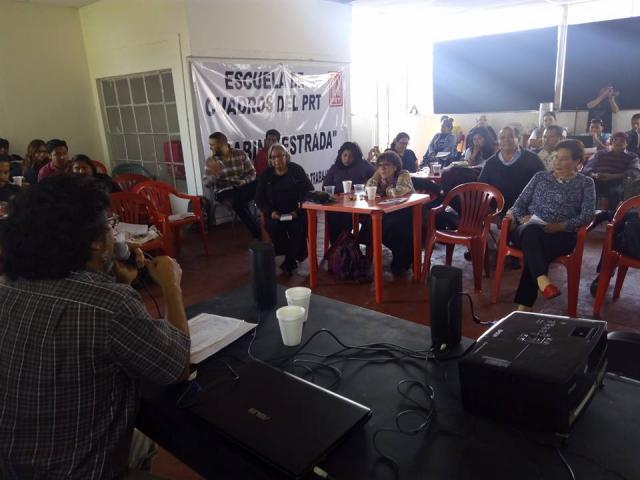 Gonzalo King expone sobre la lucha contra la Reforma Educativa
