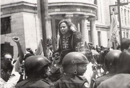 Rosario Ibarra, primero de mayo de 1988